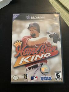 Home Run King (Nintendo GameCube, 2002) Complete with disc, manual and case.
