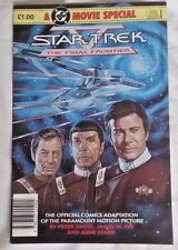 Star Trek The Final Frontier DC Movie Special London Editions VG+ (4.5) 1989