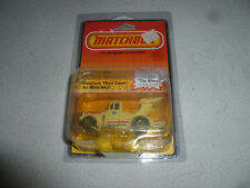 NEW ON CARD MATCHBOX DIE CAST TYRONE MALONE SUPER BOSS 1982 VINTAGE NOC MB66