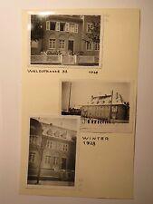 Kaiserslautern - 1928-1941 - Wohnung Haus Waldstrasse 35 + Personen .../64x Foto