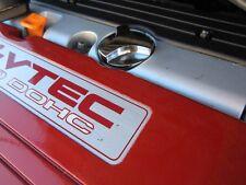 2006-2011 Honda Civic SI Three Dimension Chromed Billet Screw On Oil Cap W Ring