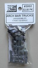ARCH BAR TRUCKS HO 1:87 SCALE LAYOUT DIORAMA TICHY TRAINS 3002