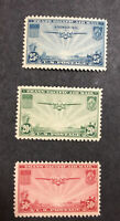 US AIR MAIL Sc# C 20-Sc# C 21-Sc# C 22 Mint NH TRANS PACIFIC - SET of 3 Stamps