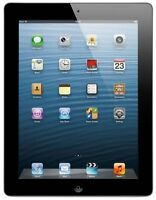 "Apple iPad 4 - 4th Generation 9.7"" with 16GB, 32GB - Black WIFI Great Condition"