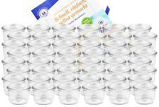 48 Weck Gläser 80ml Glas Marmeladengläser Set Einmachglas Einweckglas Rezeptheft