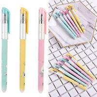 3pcs/Set 0.38mm Slim Erasable Gel Pens Gel-ink Pens For Writing Office Supplies