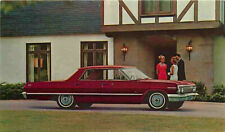Advertising Postcard 1963 Chevrolet Impala Sport Sedan
