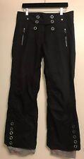 EUC Obermeyer Womens Size 6 Black Waterproof Ski/Snowboarding Pants Super Cute!