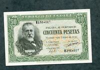 BILLETE 50  PESETAS 1940 SERIE B2504001   SC - con todo su apresto