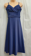 ENCHANTED BY ANN LOUISE ROSWALD ** SIZE UK 10 EU 36 ** BLUE COCKTAIL PARTY DRESS
