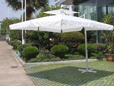 Ombrellone 3x3  palo decentrato retrattile alluminio giardino bar ristorante