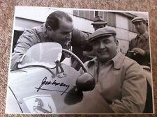 Jose Froilan Gonzalez Ferrari F1 Portrait Signed Photograph 3 **Large 16 x 12**