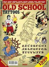Tradicional Old School Diseño De Tatuaje Flash Libro Tatuaje