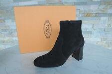 81cec35d6ddc73 Tods Tod´s Stiefeletten Gr 37 Booties Stiefel Schuhe schwarz neu ehem. UVP  420