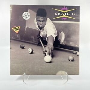 Craig G - The Kingpin Vinyl Record LP