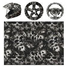 Skull PVA Water Transfer Film Hydrographic Hydro Dipping Dip Printing Car !!