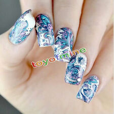 2Patterns/Sheet BORN PRETTY Flower Nail Art Water Decals Transfer Sticker