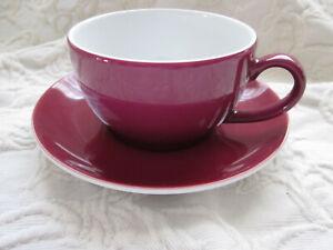 Dibbern - Solid color - Tasse 0,25l - bordeaux - unbenutzt