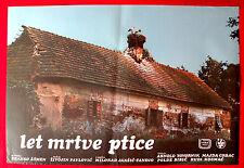 FLIGHT OF DEAD BIRD 1973 LET MRTVE PTICE ZIVOJIN PAVLOVIC EXYU MOVIE POSTER