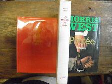 lot de 3 livres de Morris West Protée - la tour de babel - les enfants du soleil