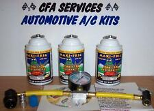 R12 COMPATIBLE A/C REFRIGERANT /3 MAXI FRIG 12a /1994 &OLDER RECHARGE REFILL KIT