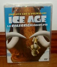 ICE AGE-LA COLECCION COMPLETA 4 DISCOS DVD-NUEVO-PRECINTADO-NEW-SEALED-ANIMACION