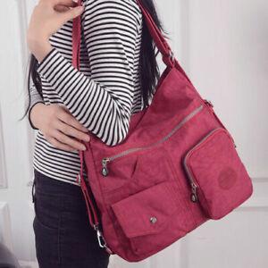 Khalia High Capaciy Backpack Multifunctional Waterproof Satchel Shoulder Bag