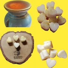 Vanilla Personalised Highly Scented Soy Wax Melts Mini Hearts Tart Oil Burners