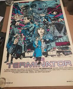 TYLER STOUT The Terminator Regular Edition SOLD OUT Signed Numbered not Mondo