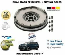 FOR KIA SORENTO 2.0 2.2 CRDI 4WD 2009->NEW DUAL MASS FLYWHEEL WITH FITTING BOLTS