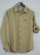 Men Jack Wolfskin Casual Shirt Urban Outdoor CheckRoll Sleeves S MDA584