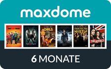 6 Monate Maxdome Gutschein (Neu- und Bestandskunden)