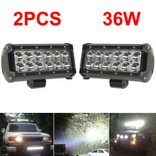 "2x 6"" 7"" INCH LED Work LIGHT BAR SPOT OFF ROAD 4X4 BOAT ATV DRIVING LAMP TRUCK"
