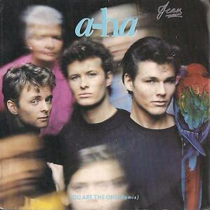 DISCO 45 Giri      A-HA - YOU ARE THE // OUT OF BLUE COMES GREEN