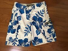 ABERCROMBIE & FITCH MENS BOARD/SURF SHORTS BLUE Size 30