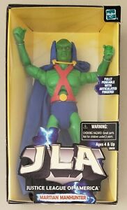 """JUSTICE LEAGUE OF AMERICA MARTIAN MANHUNTER JLA 8"""" FULLY POSEABLE ACTION FIGURE"""