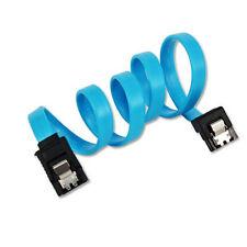 45cm High Speed 6GB SATA 3 III Data Cable Serial ATA Locking Clips Lead FA