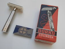 DORKO SOLINGEN Vintage Antiker Rasierer DE Razor 3 Pcs Shaver from NOS!