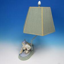 Royal Copenhagen Figurine 1878 Boy With Sailing Boat Lamp