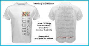 Saratoga Race Track - 150th Travers Designer Unisex - Collectible T-Shirt