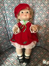 Lee Middleton Original Dolls 1988 Christmas Angel #5668