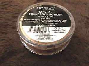 Mineral Foundation Makeup Powder #MF-2 Sandstone Mica Beauty Micabella 9 gr 2022