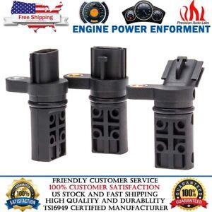 3Pcs Set Camshaft/Crankshaft Position Sensor Fits For Infiniti & Nissan 3.5L V6