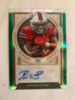 2019 PANINI CHRONICLES DEVIN SINGLETARY LEGACY ROOKIE AUTO SP /25 BILLS RC