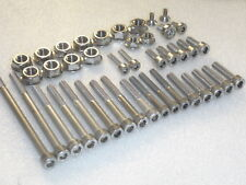 Yamaha YZ400 YZ426 WR400 WR426 1998-02 Engine Covers 56 Stainless Allen Bolt kit