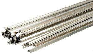 "Micro Engineering 17-070 HO Code 70 36"" Non-Weathered Nickel Silver Rail"