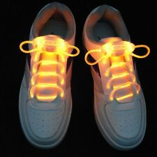Yellow Party Skating LED Flash Light Up Glow Shoelaces Shoe Laces Shoestrings