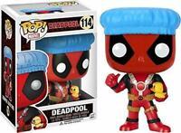 Deadpool Shower Cap & Ducky Exclusive Funko Pop Vinyl Bobblehead Figure