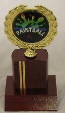 Paint Ball Trophy 155mm Engraved FREE
