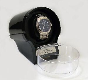 Diplomat Watch Winder Diplomat Case Box Storage Timer  Automatic  glossy